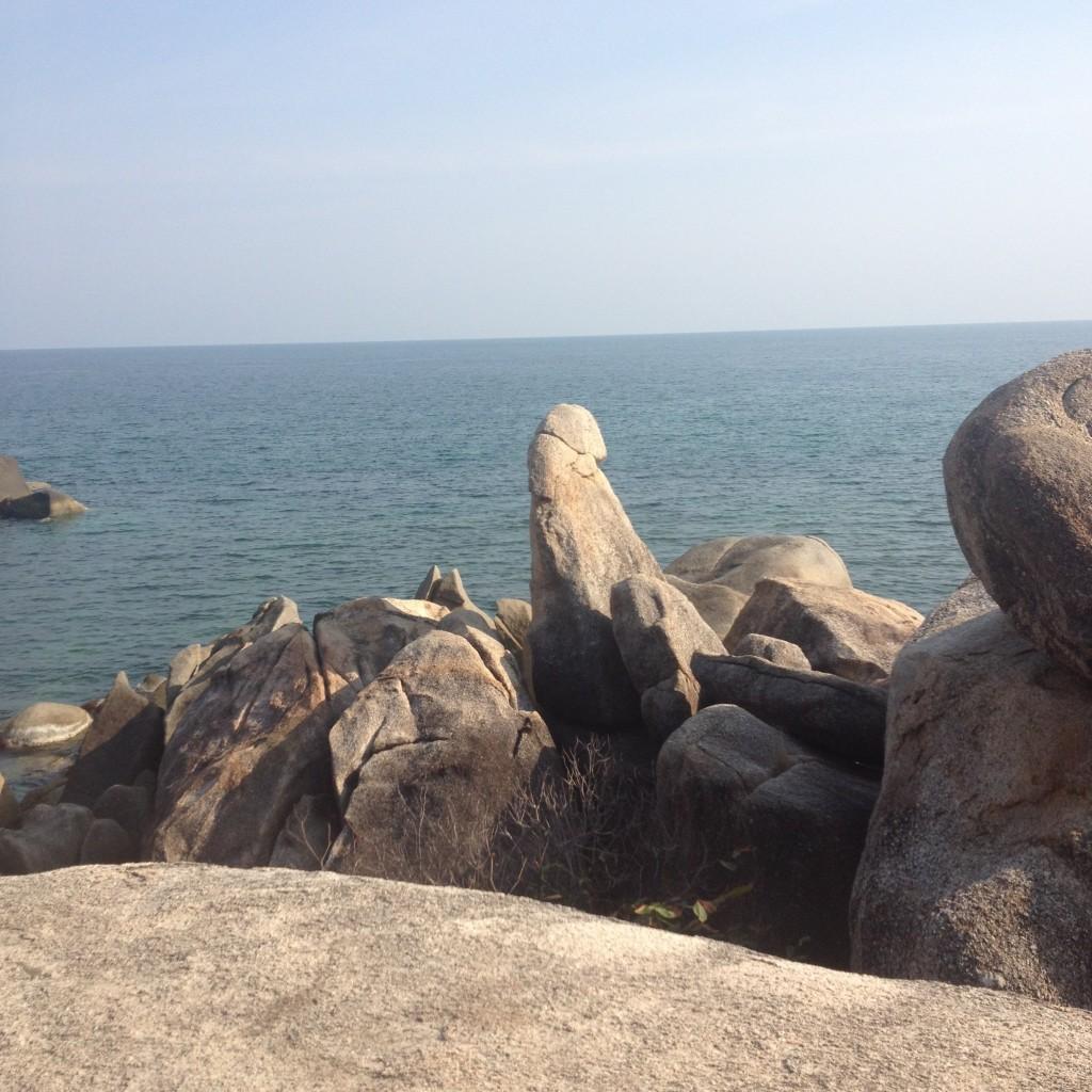 Дед был стар, но хрен стоял )) (Про посещение камней Бабушка и Дедушка на острове Самуи)