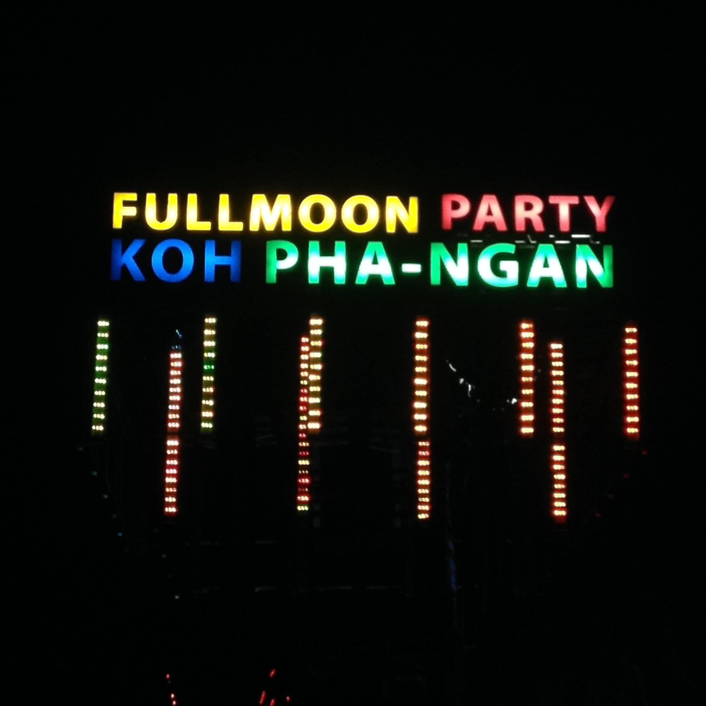 Фул Мун Пати на острове Панган: мои впечатления