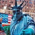 статуя свободы смешное фото