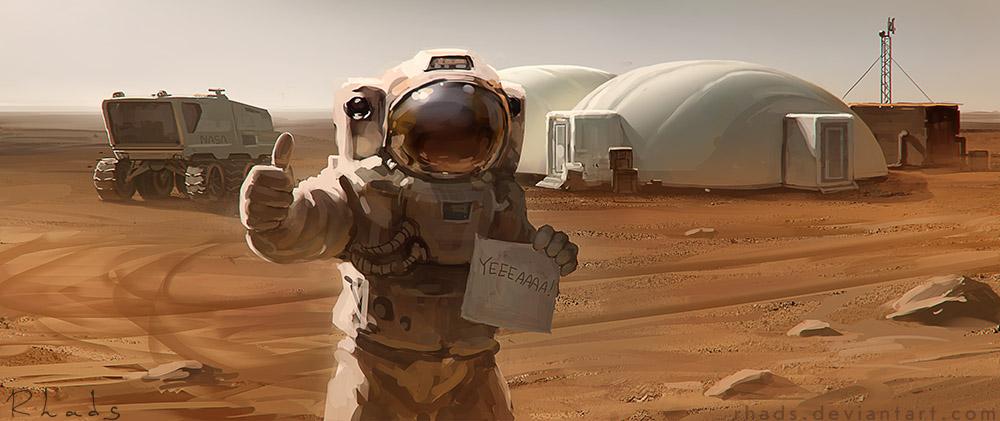 Фильм «Марсианин»: Фантастика стала фаст-фудом