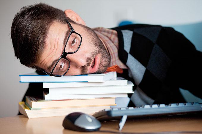устал от обучения