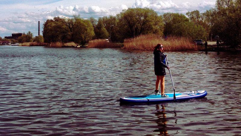 Сап серфинг: как я чуть не утонул в реке Преголе