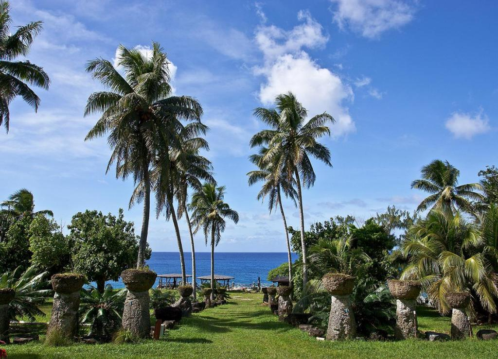пейзаж марианских островов