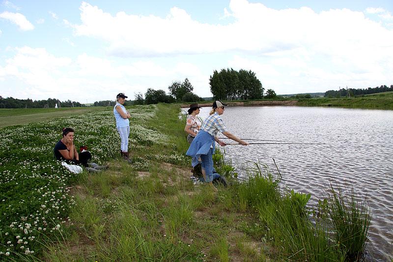 ловить рыбу на природе
