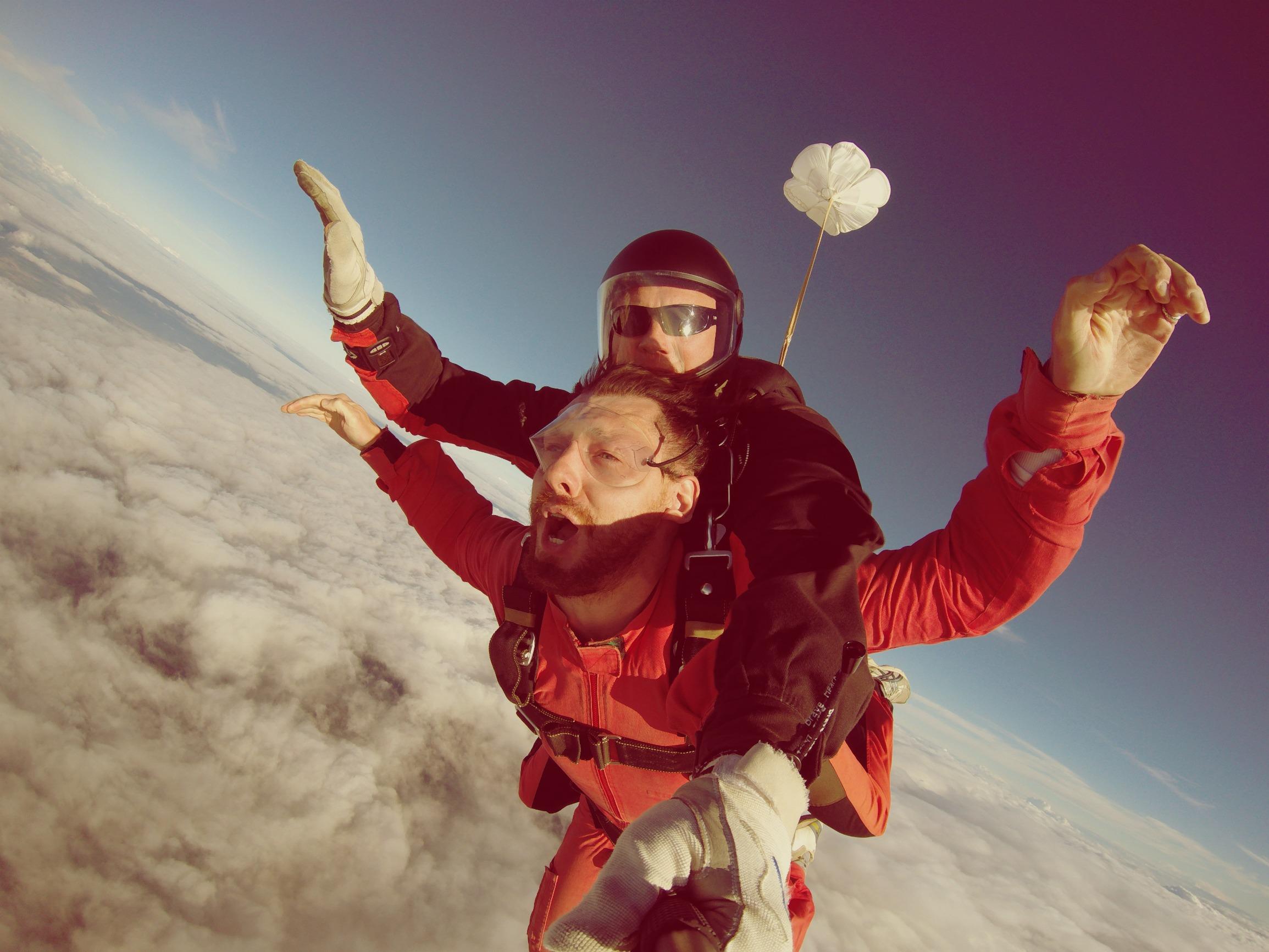 Прыжки с парашютом в Калининграде не проводятся, но это не повод не прыгнуть в Литве!