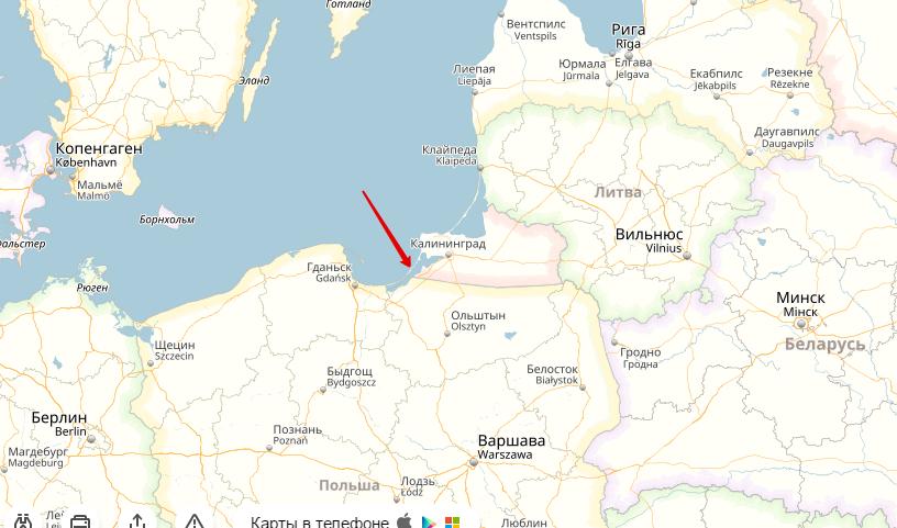 baltijskaja-kosa-na-karte