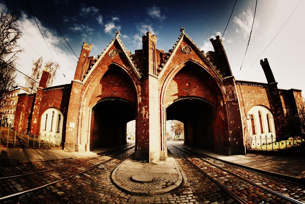 Бранденбургские ворота в Калининграде – одна из интересных достопримечательностей