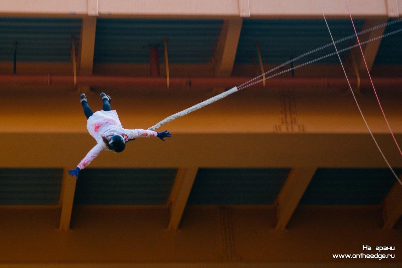 Бездна 3.0: отчет о прыжках с веревкой с моста под Калининградом