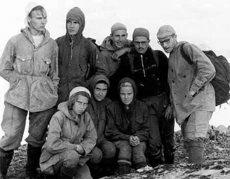 фото группы дятлова