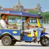 Тук-тук – самый известный общественный транспорт в Таиланде