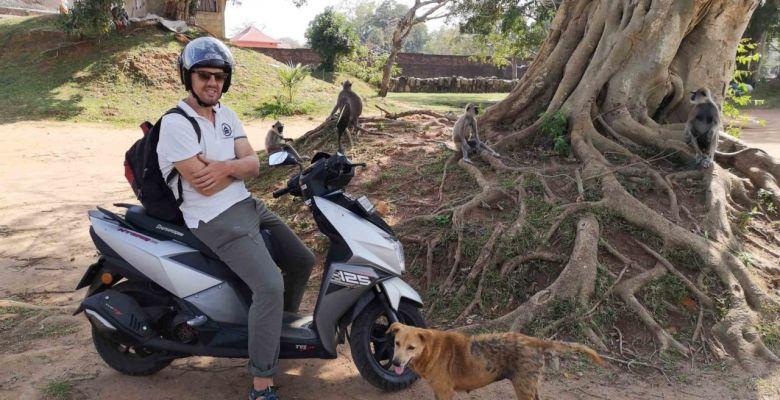 Шри-Ланка на байке: аренда и самостоятельное мото путешествие на скутере