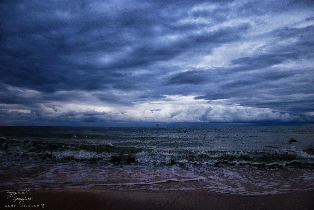 Балтийское море вечером