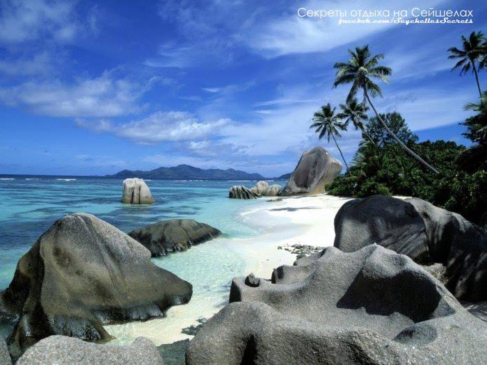 сейшелы пляж камни