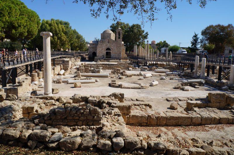 развалины храм кипр