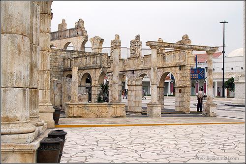 Типа античные руины
