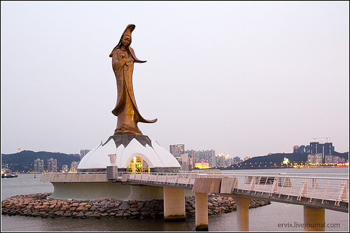 Макао защищает богиня