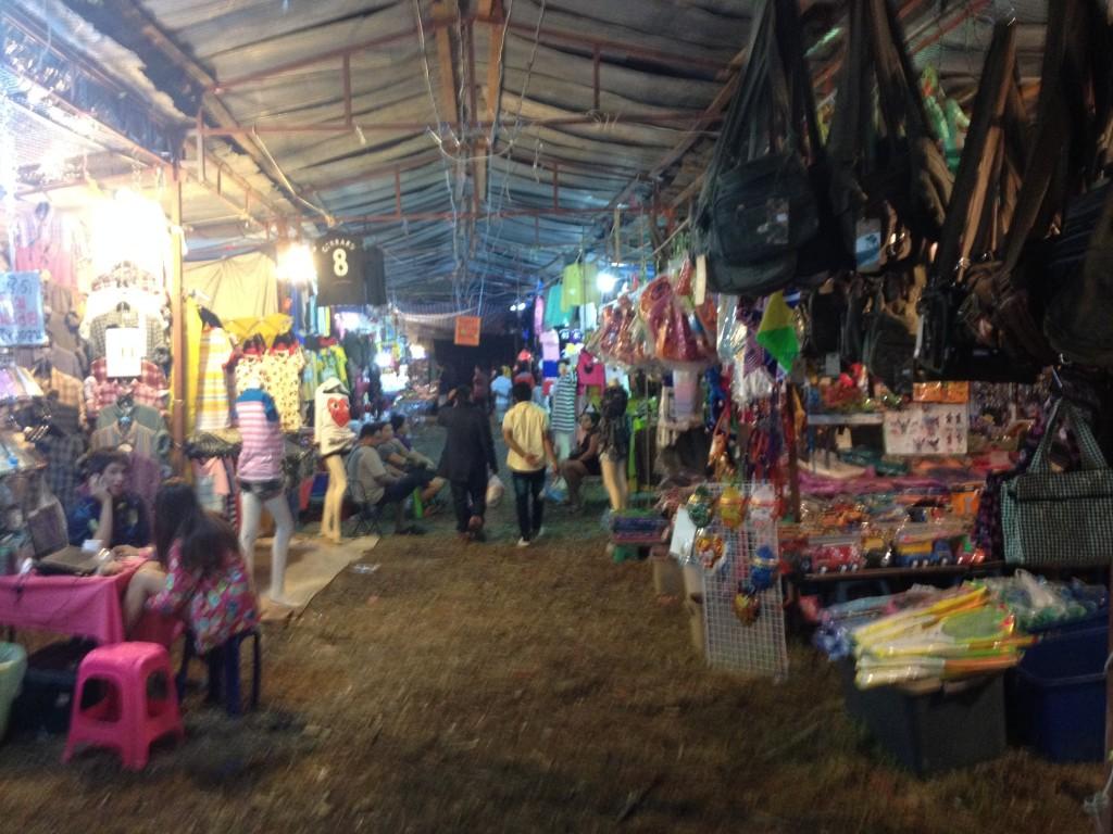 Рынок ночной на Самуи