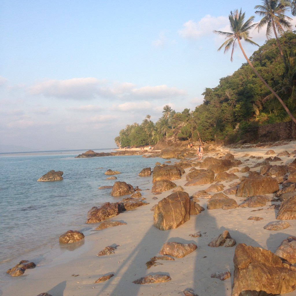 пляж бан тай самуи фото