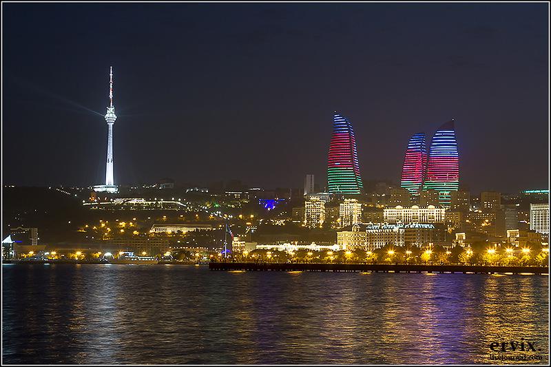 центр Баку, Азербайджан