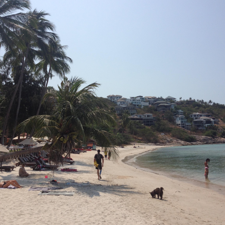 пляж в районе Чонг Мон