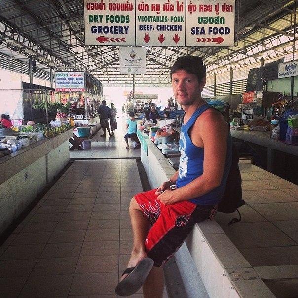 я на острове Самуи: рынок района БоПут