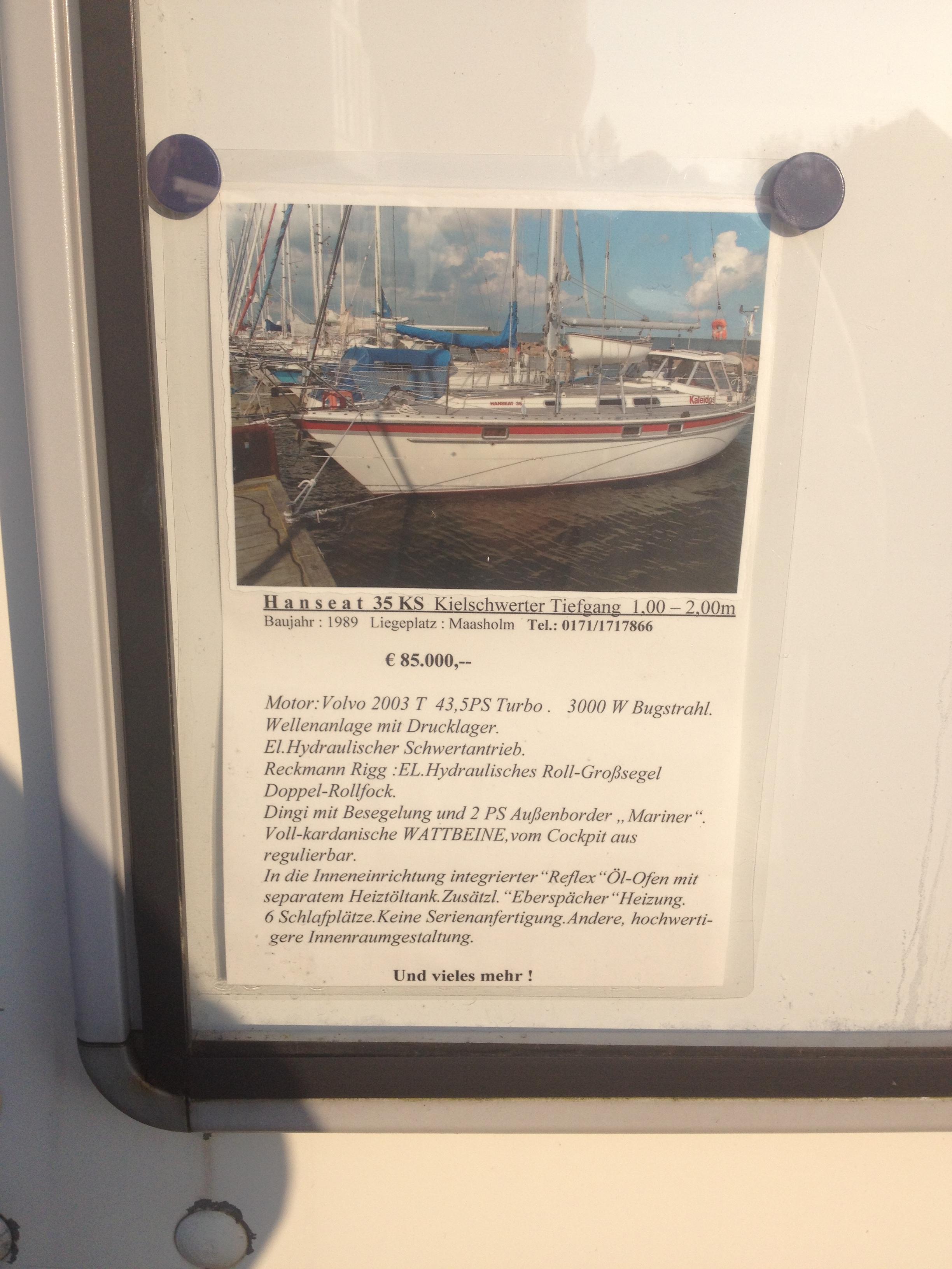 кстати о ценах на яхты