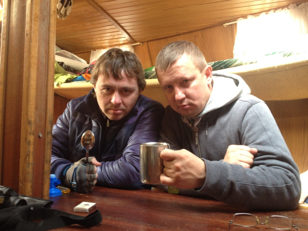 Алексей и Александр: суровые морские волки :)