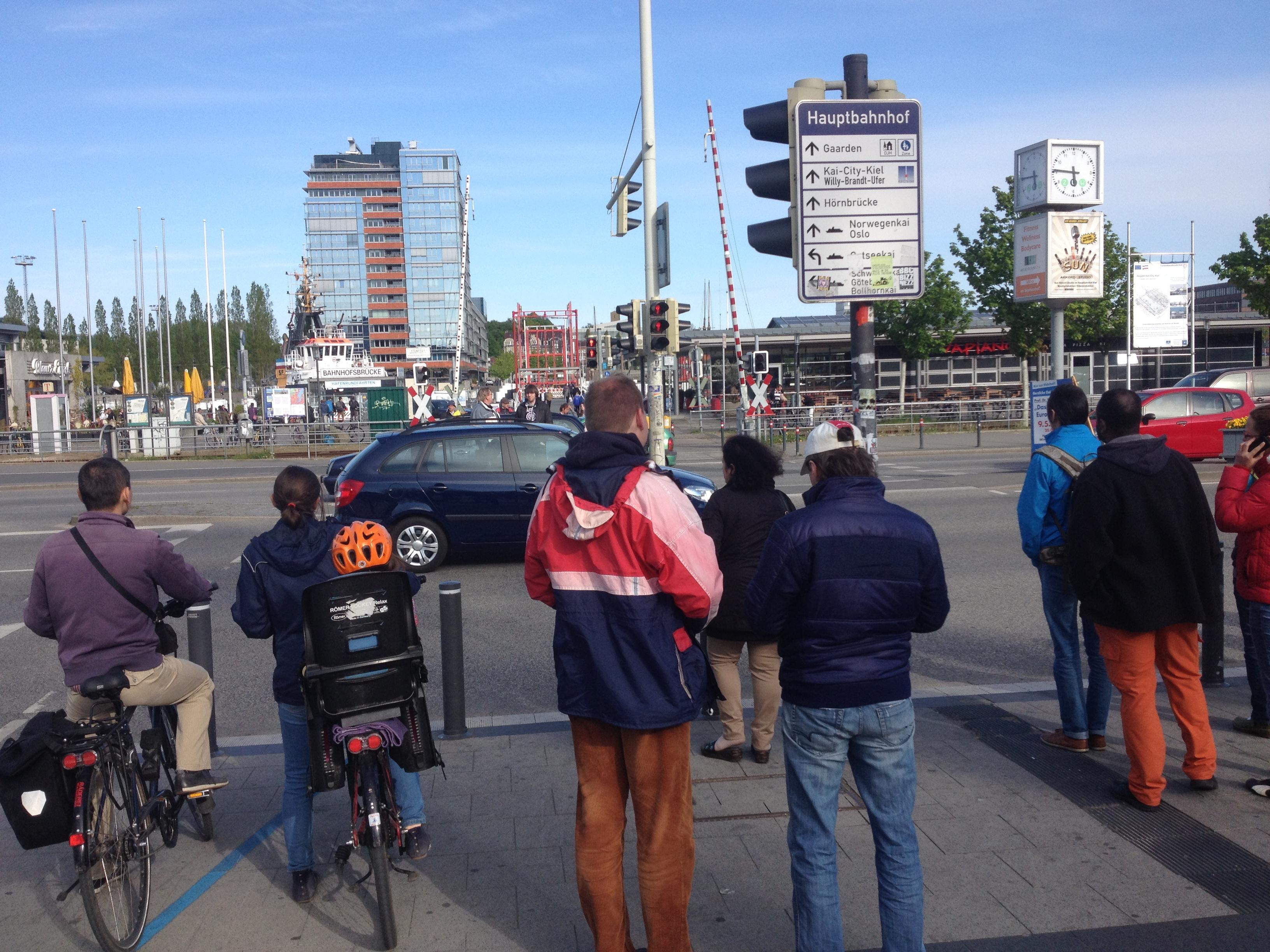 улицы киля германия