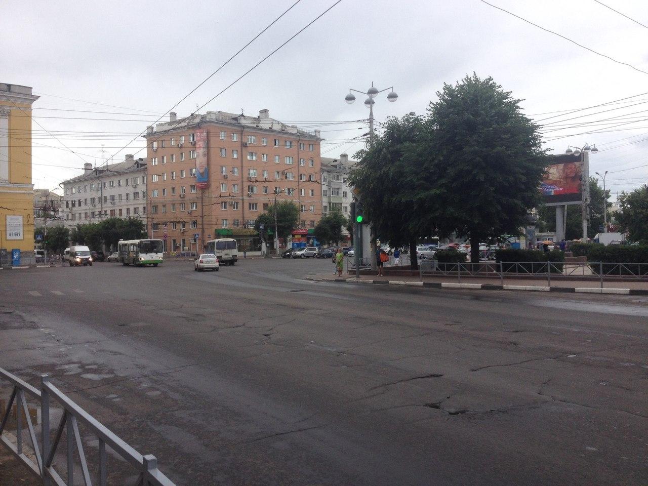 рязань улица в центре города