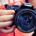 разбитый объектив фотоаппарата