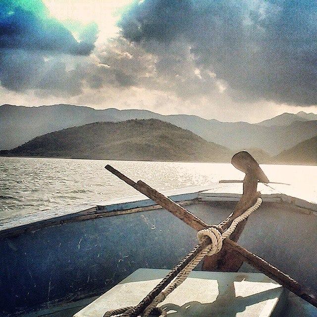 Фотография из бухты Ня Фу, рядом с Нячангом во Вьетнаме
