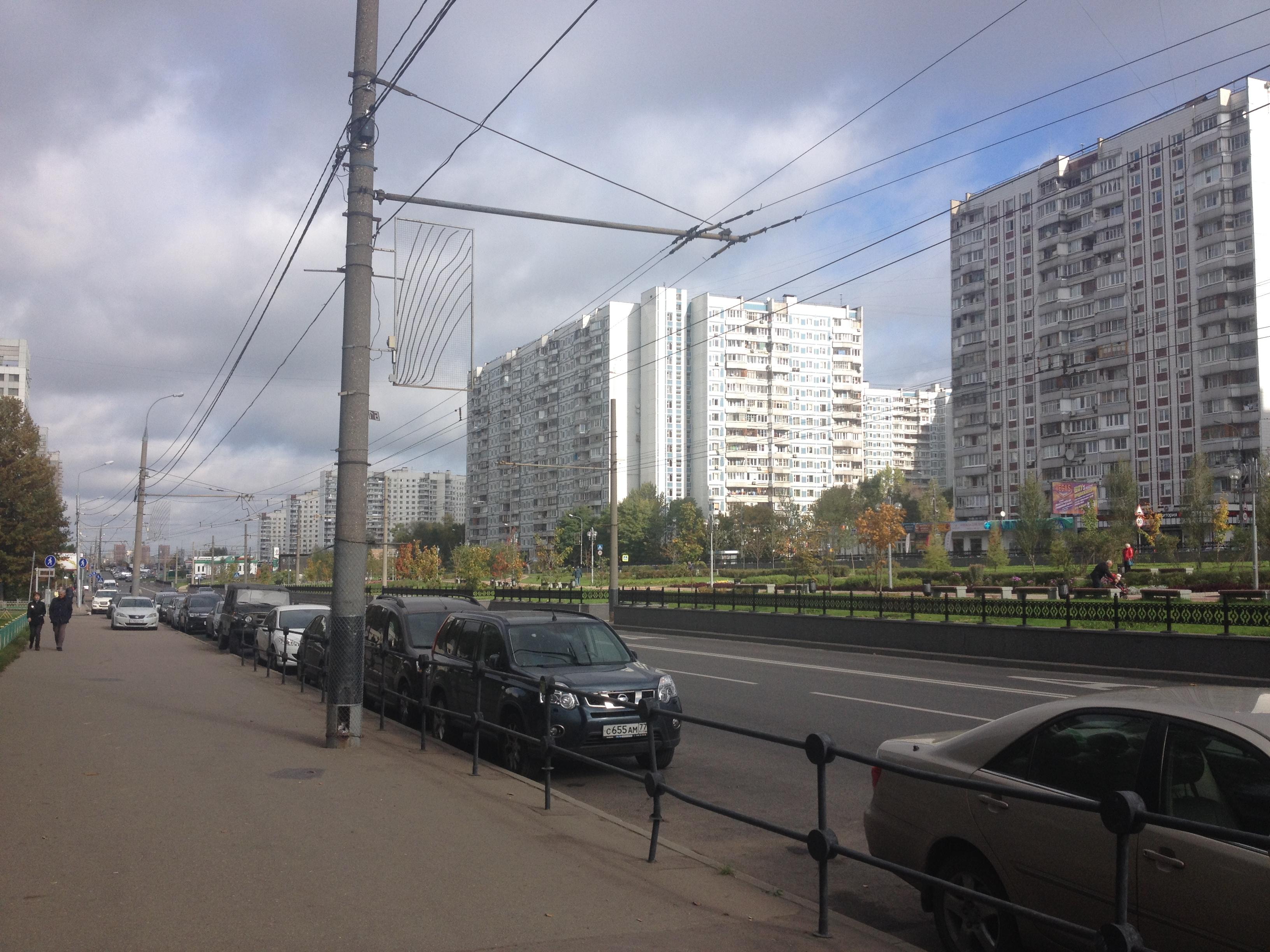 Типичная нерезиновая, недалеко от Рублёвки