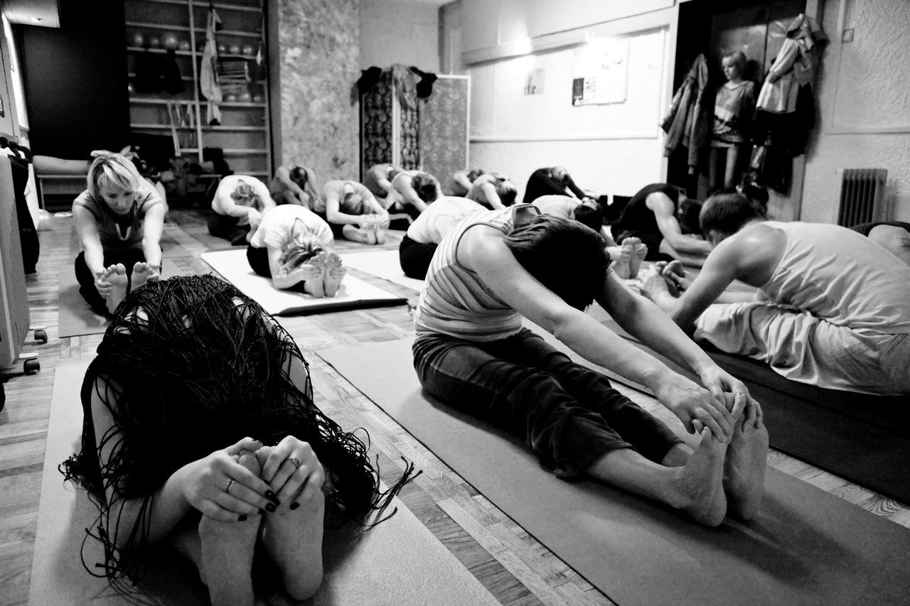 Занятия в йога-студии Сергея Афонина в Калининграде