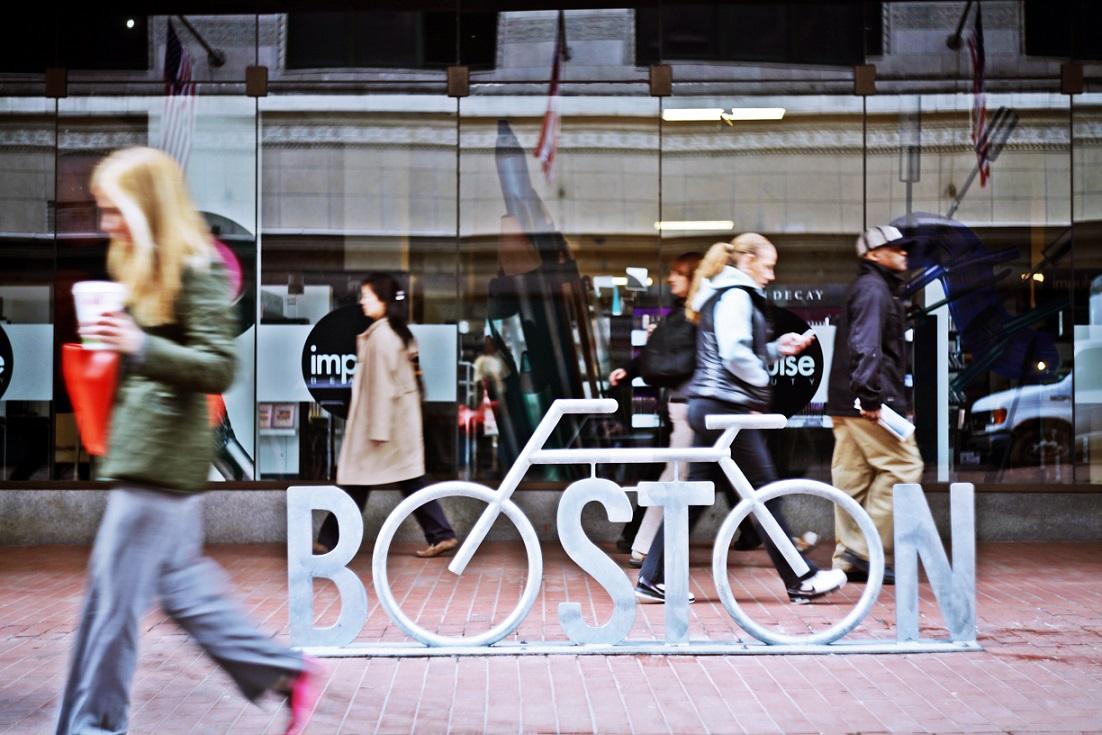 И еще одна фотография из Бостона США
