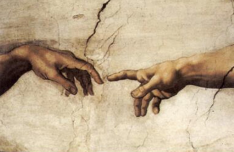 у Бога нет других рук, кроме твоих