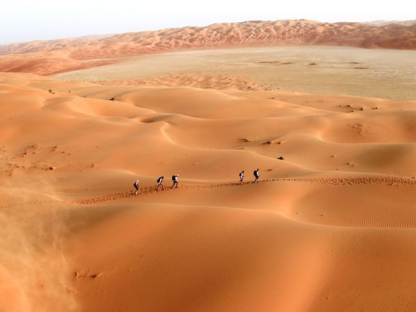 а вы были в настоящей пустыне??