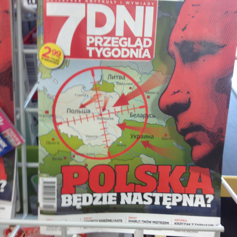 Поляки боятся человека с красным лицом)