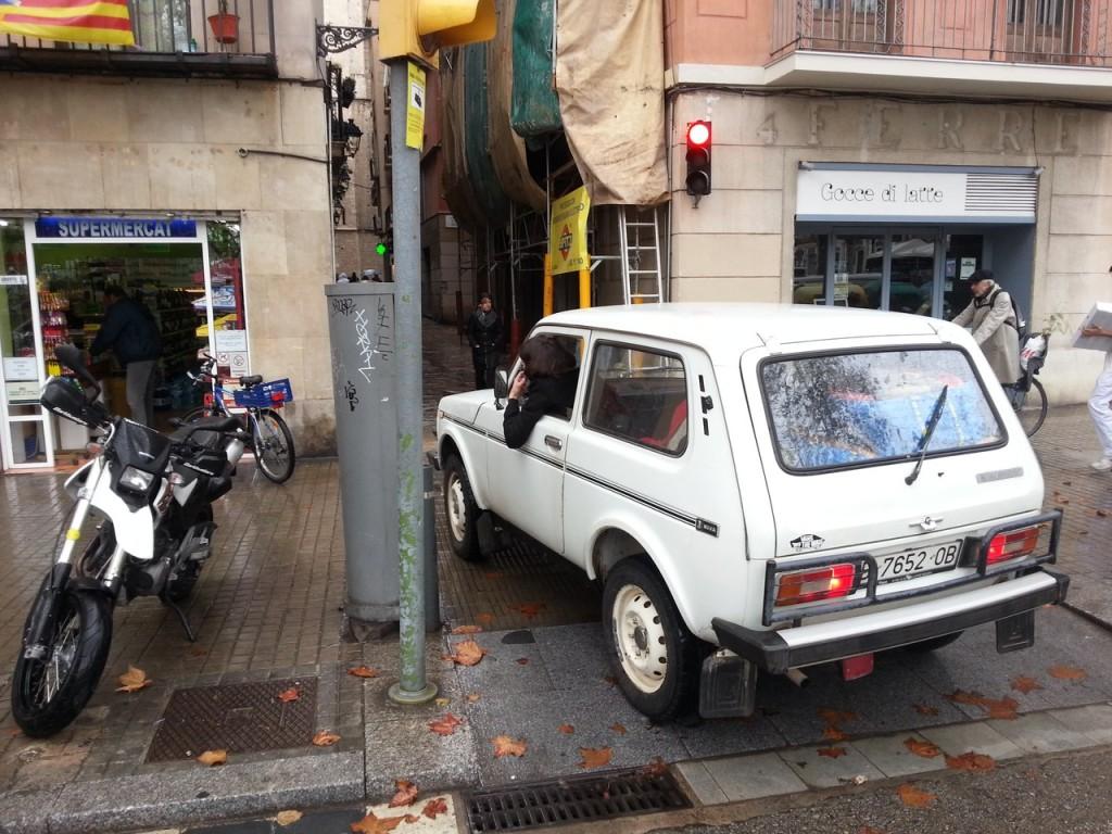 Отечественный автопром детектед! (Барселона, если что)