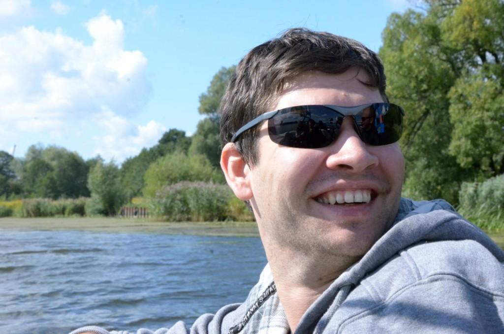 Сергей, один из участников наших покатушек на вейке
