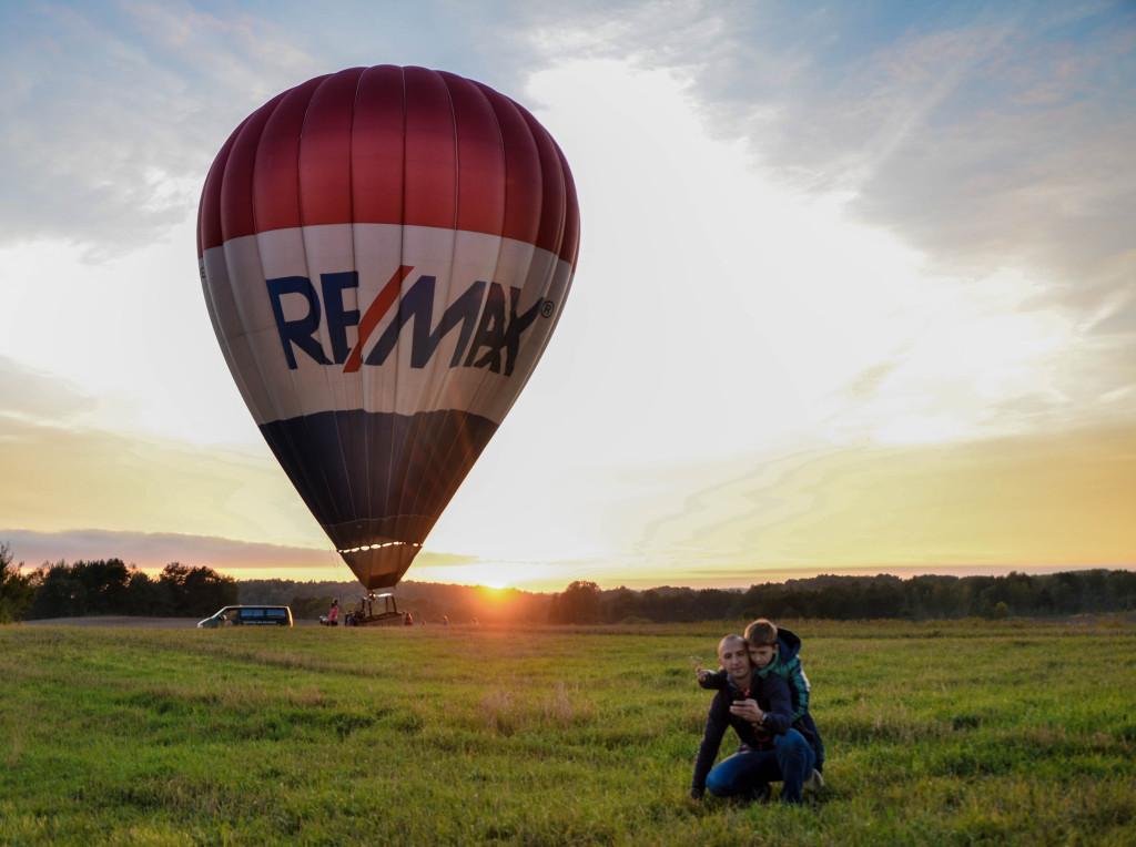 Полет на воздушном шаре над Тракайским Замком (11)