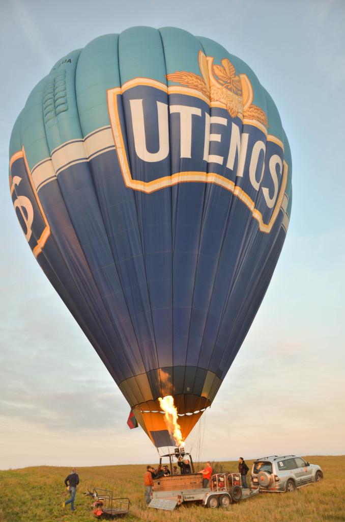 Полет на воздушном шаре над Тракайским Замком (12)