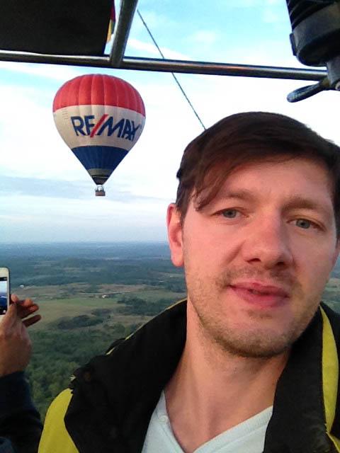 Полет на воздушном шаре над Тракайским Замком (21)