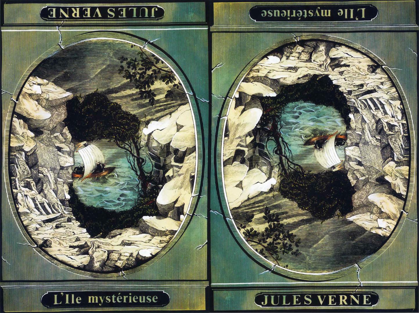 «Таинственный остров» роман Жюля Верна