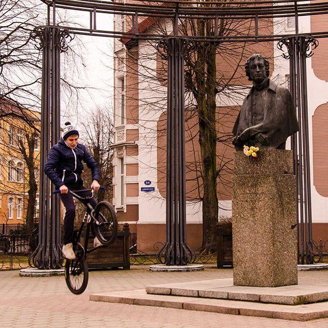 велосипед Пушкина