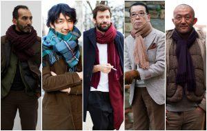 пять обмотанных мужчин