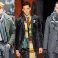 как мужчине завязать шарф на пальто