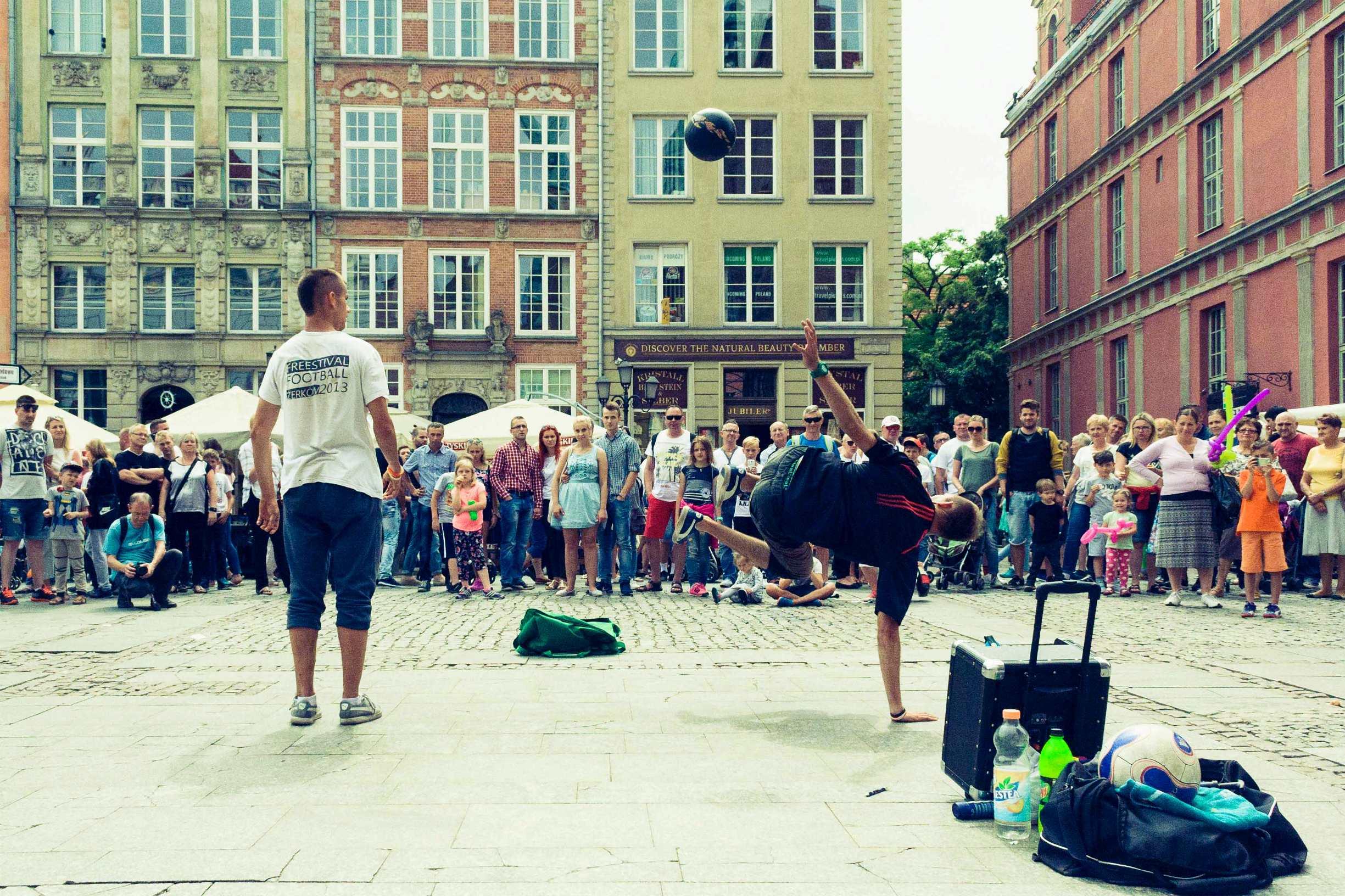 был тут кстати недавно в Гданьске, где и сделал это фото
