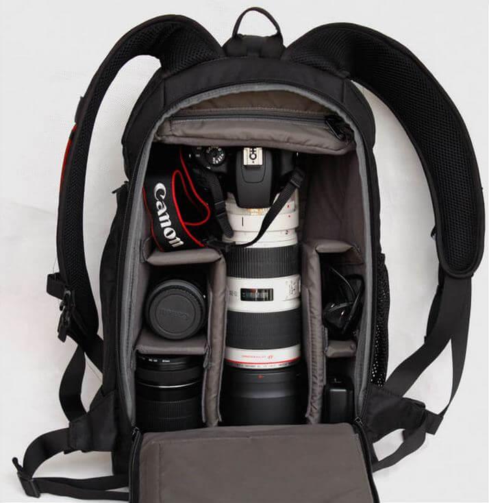 Самые удобные рюкзаки для фотоаппаратуры jack wolfskin рюкзаки интернет магазин
