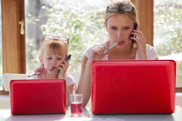 работа в интернете с ребенком