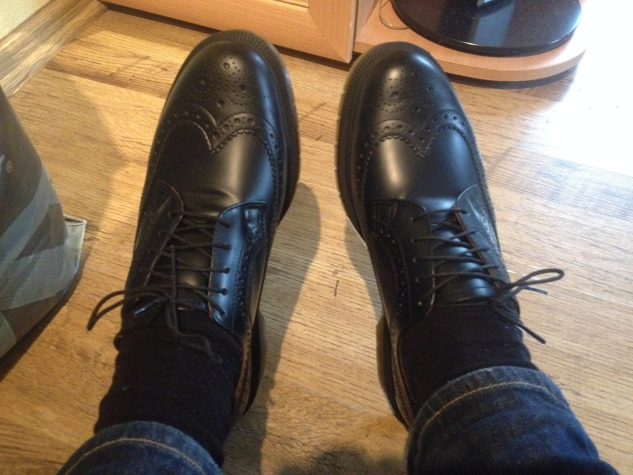 ботинки др мартенс на ноге